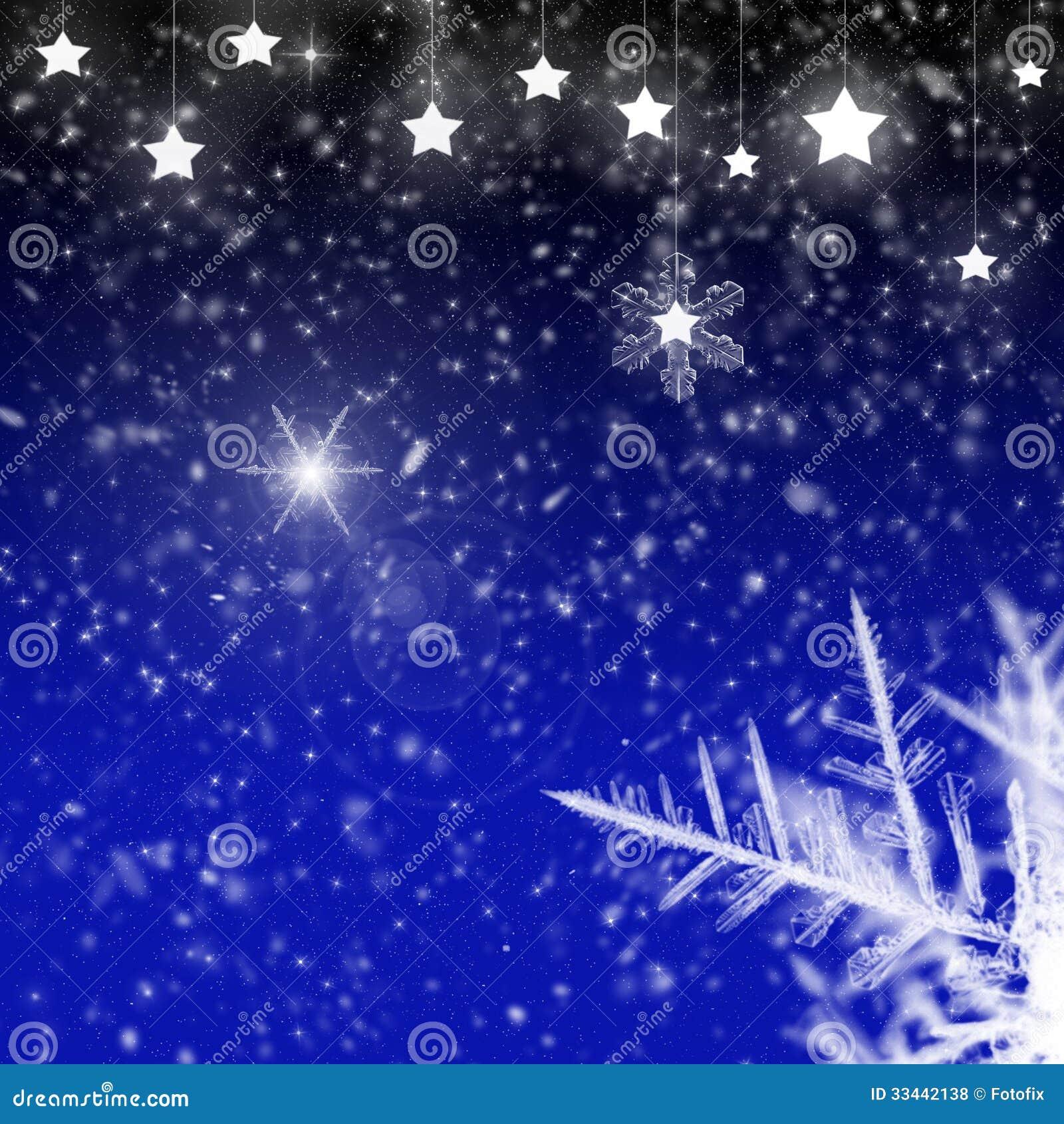 Copos de nieve estrellas y cristales de hielo fotos de for Estrella de nieve