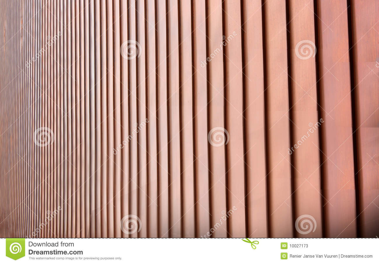 Copper Cladding Vertical Stock Image Image Of Disappear