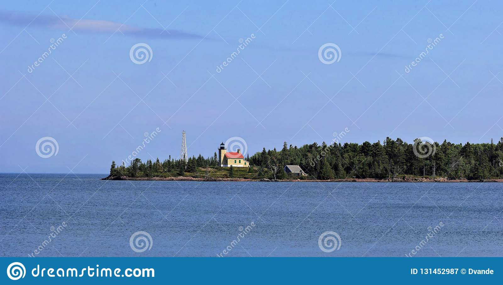 Copper Harbor Light is a lighthouse located in the harbor of Copper Harbor, Michigan USA on the Keweenaw Peninsula of Upper