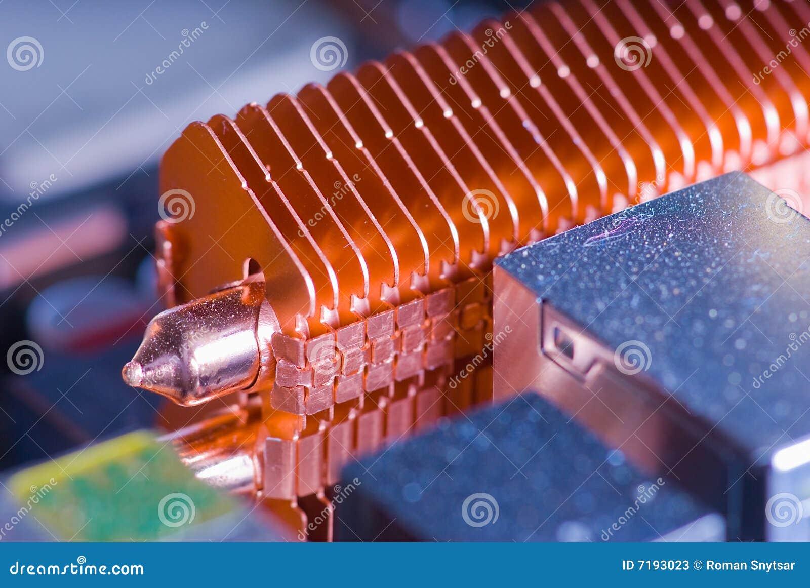 Как сделать тепловые трубки для охлаждения