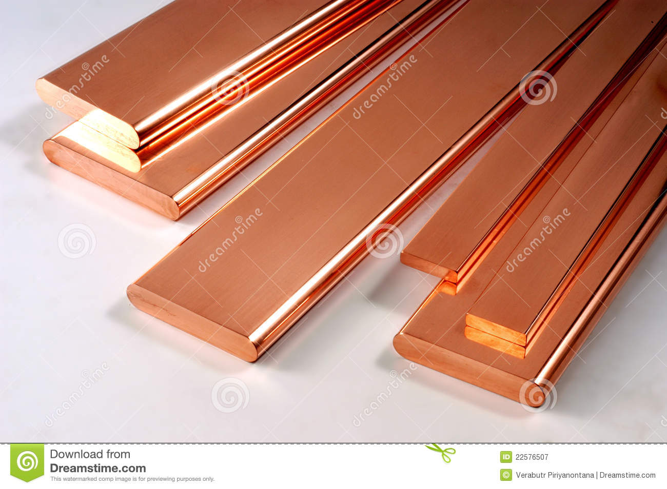 Copper Plate Stock Image Image Of Water Steel Surface