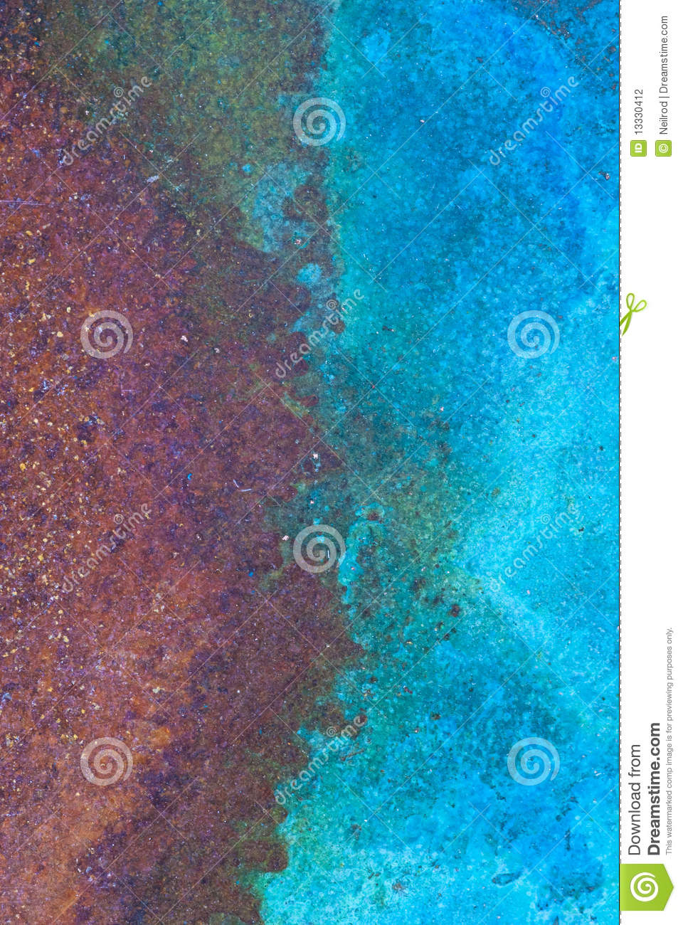 Copper Rust Stock Photography Image 13330412