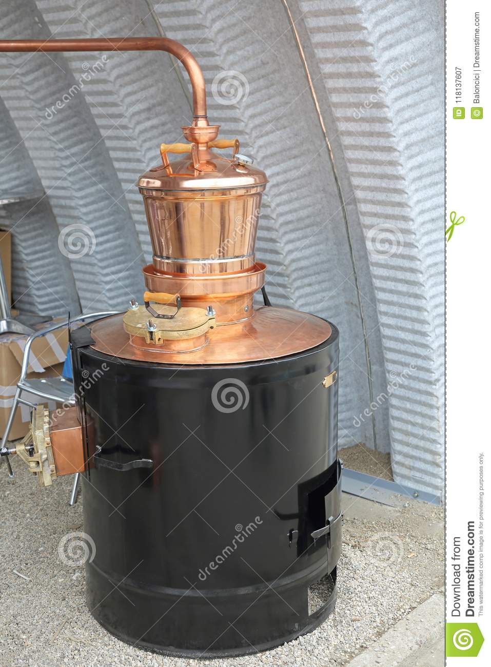 Copper Still Distiller