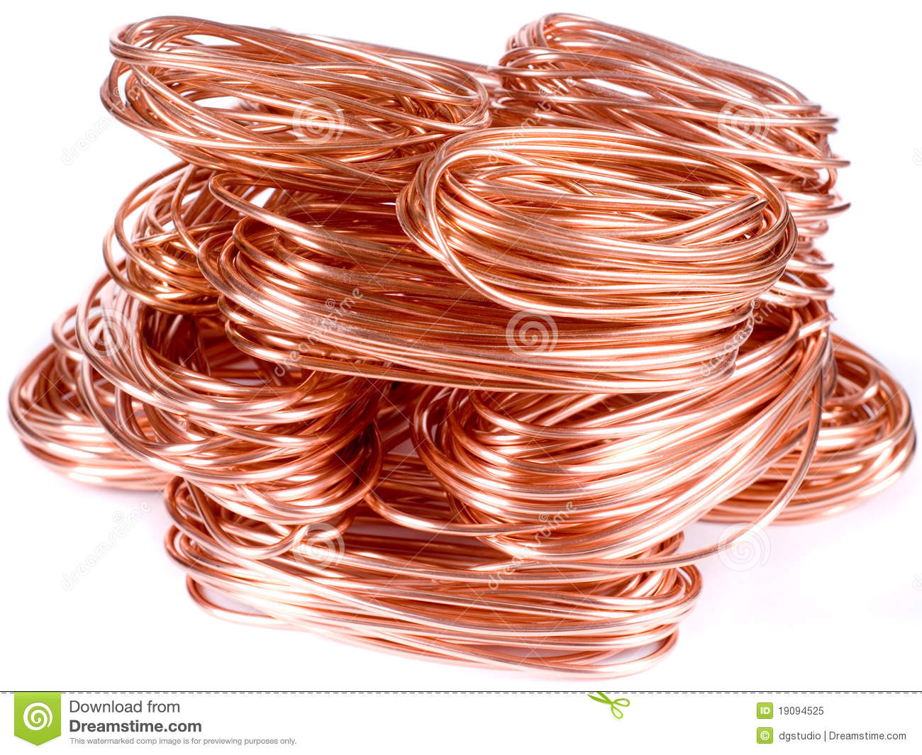 Copper Cable Market Share : Copper wire royalty free stock photo image
