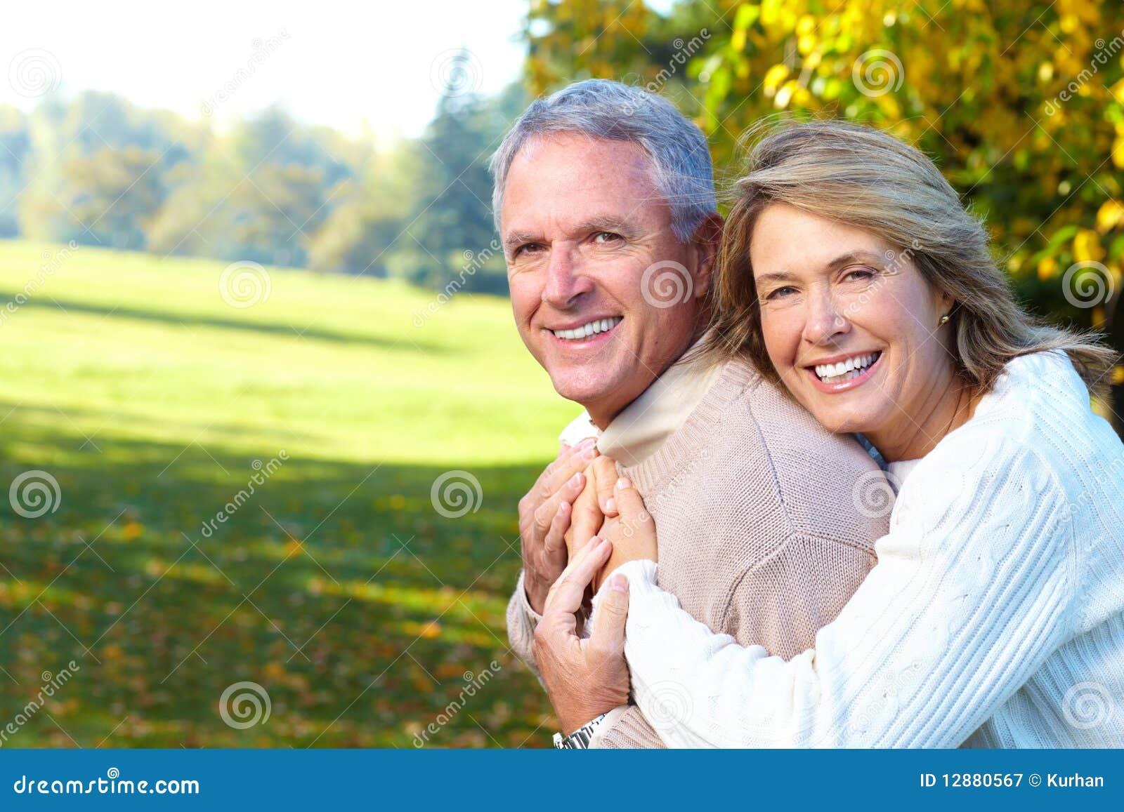 Coppie anziane degli anziani