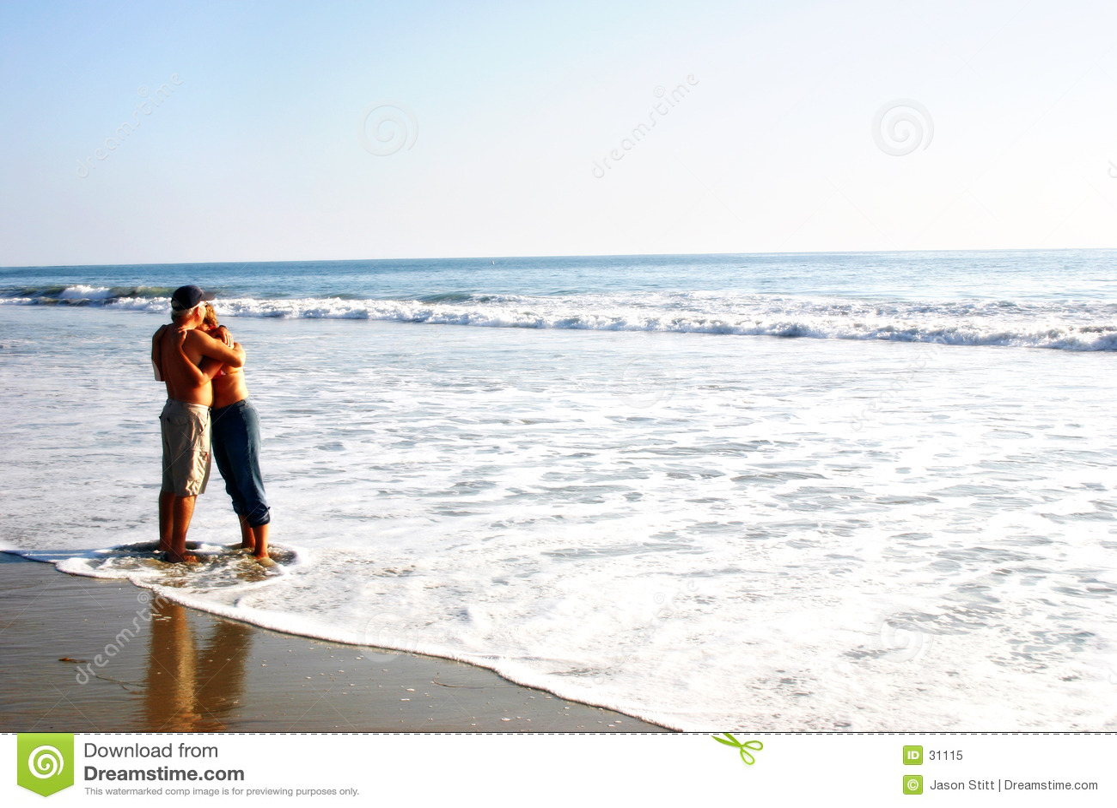 Coppie della spiaggia