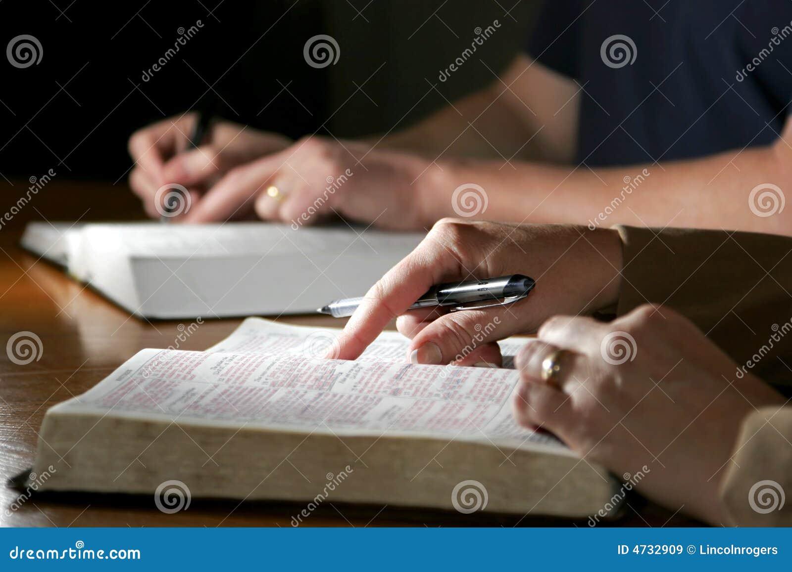 Coppie di studio della bibbia