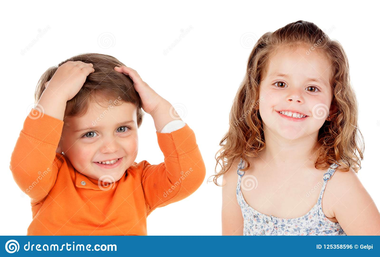 Coppie sorprese dei bambini