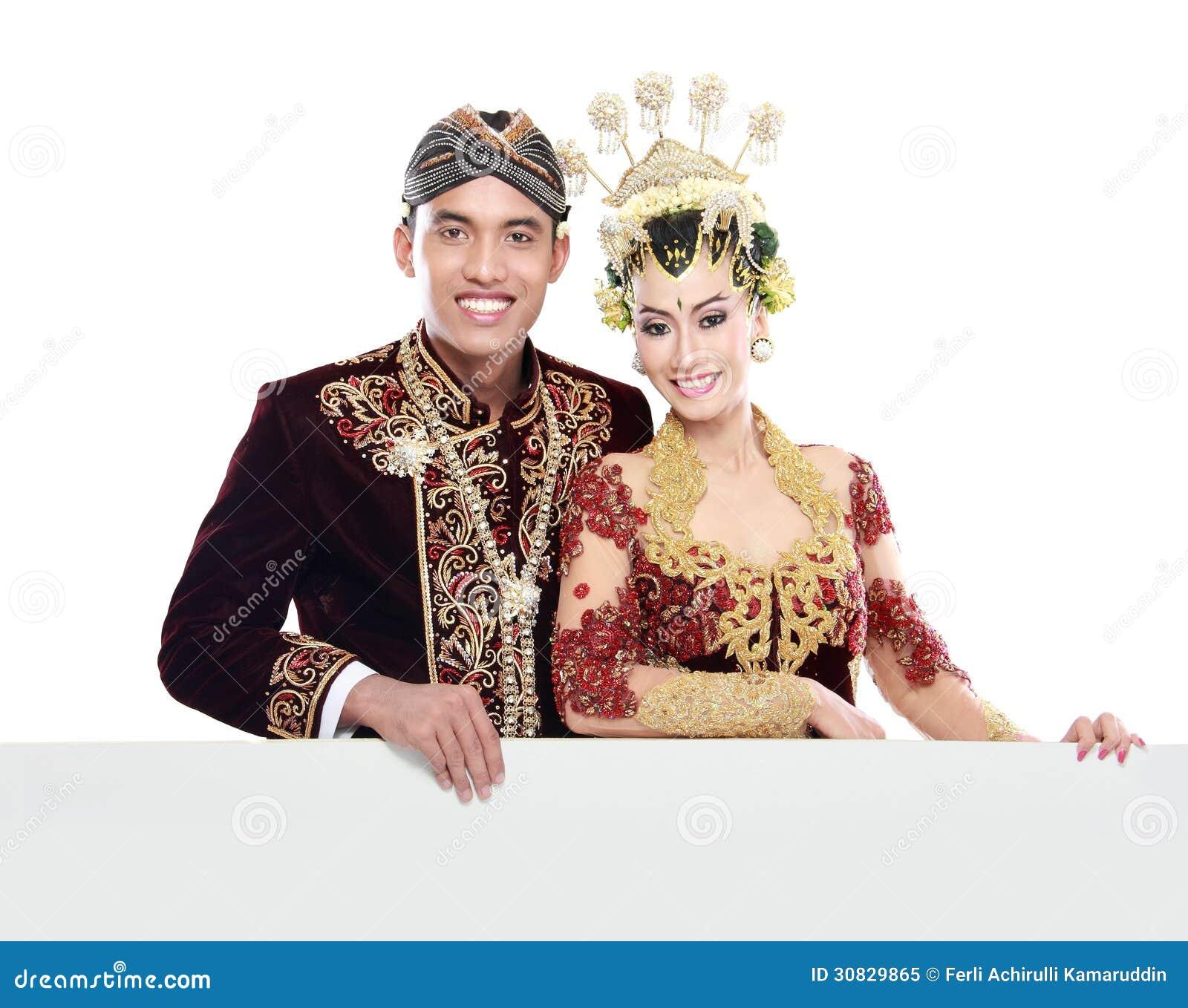 Coppie tradizionali di nozze di Java