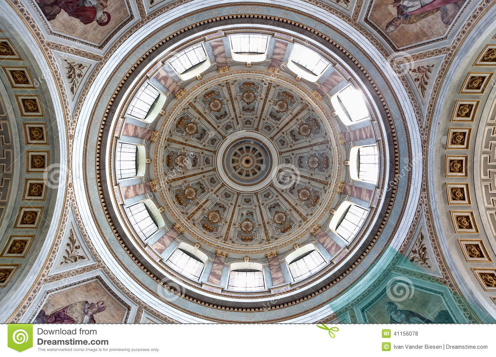 Copula Esztergom Basilica, Hungary