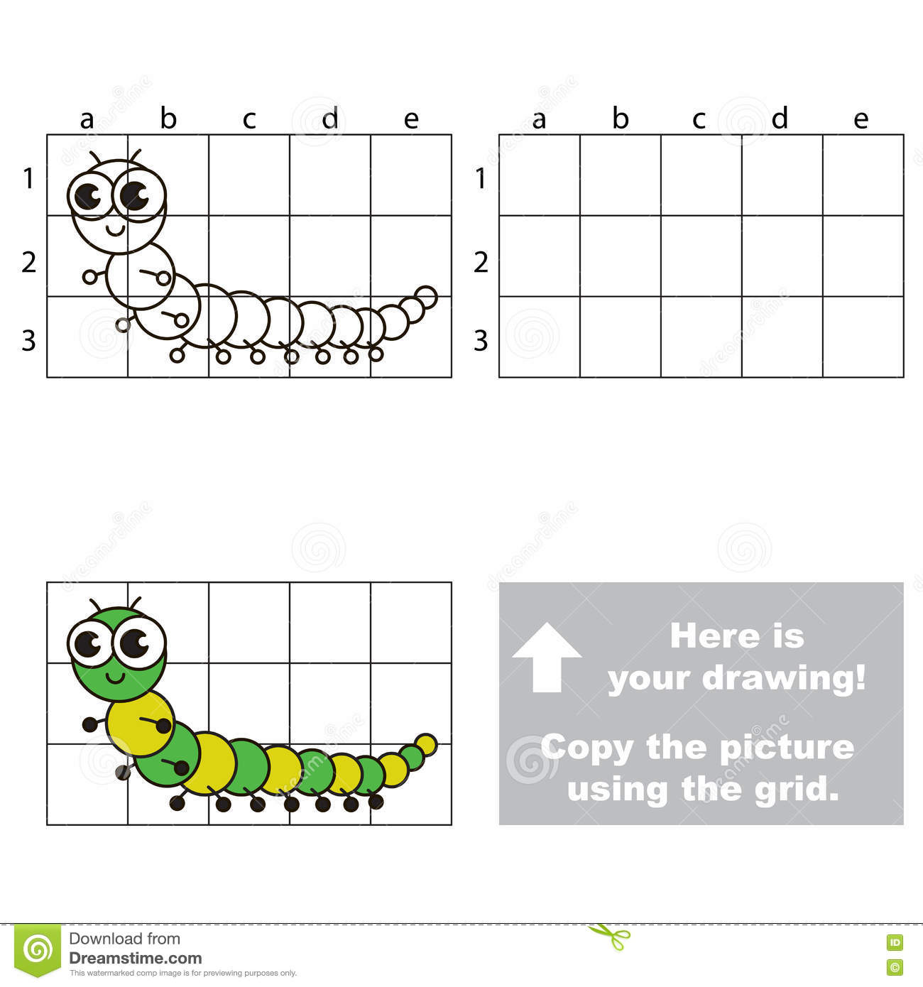 Drawing Lines Using Html : Millipede cartoons illustrations vector stock images