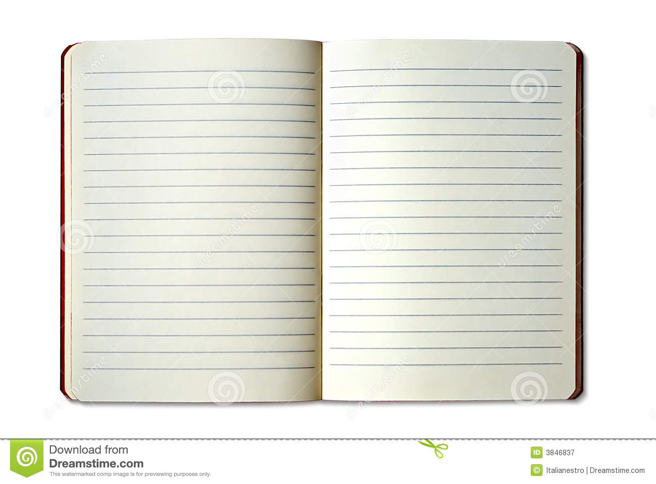 Copybook Royalty Free Stock Photography - Image: 3846837