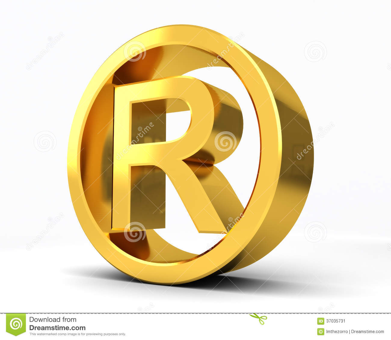 Copyright Registered R Stock Illustration Illustration Of