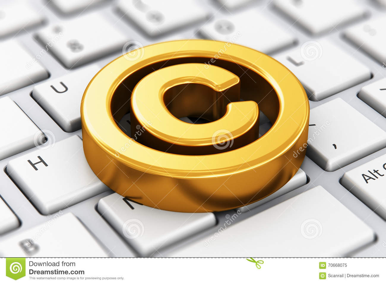 Copyright symbol on computer keyboard stock illustration copyright symbol on computer keyboard buycottarizona Images