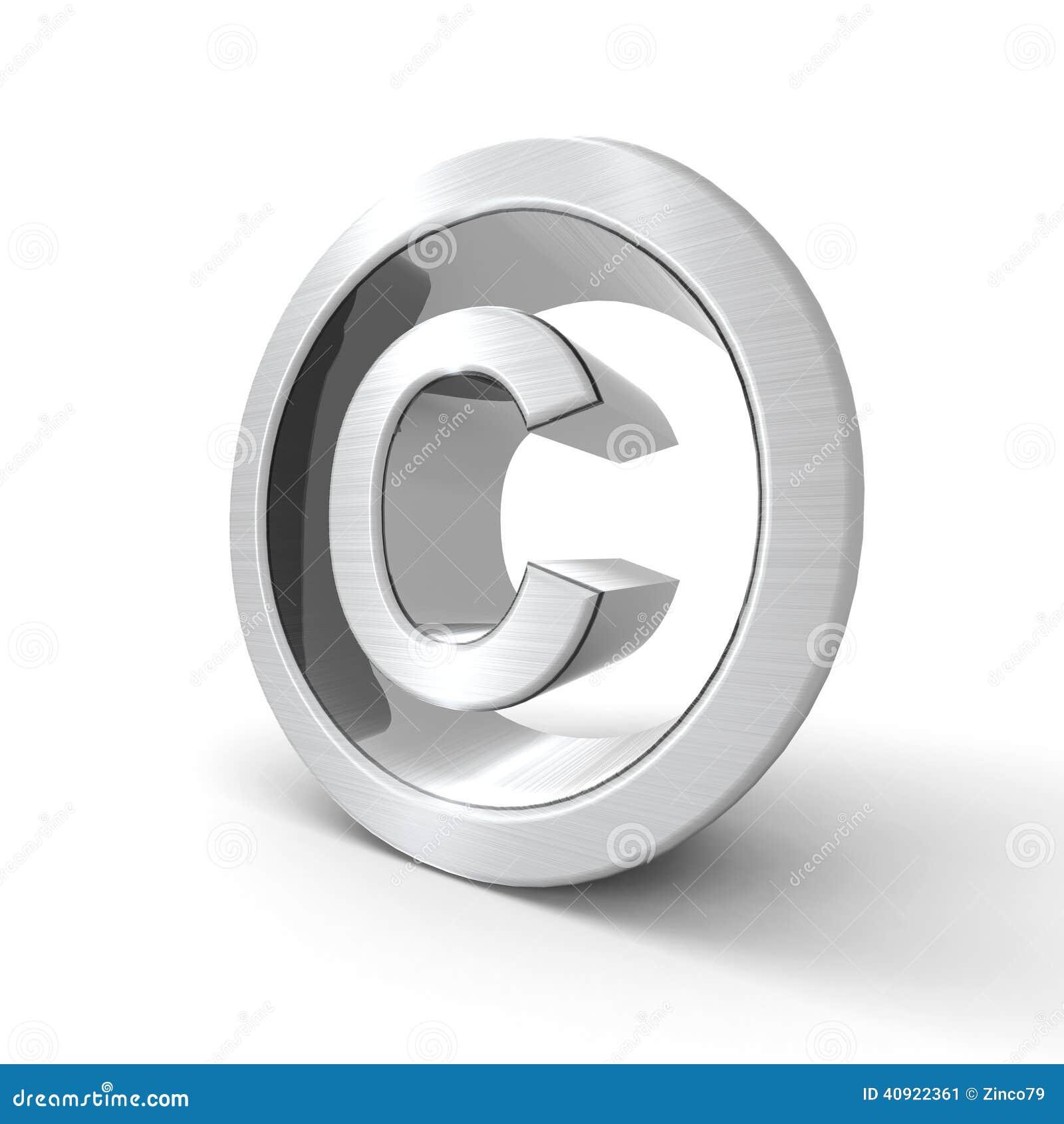 copyright symbol royaltyfree stock image cartoondealer