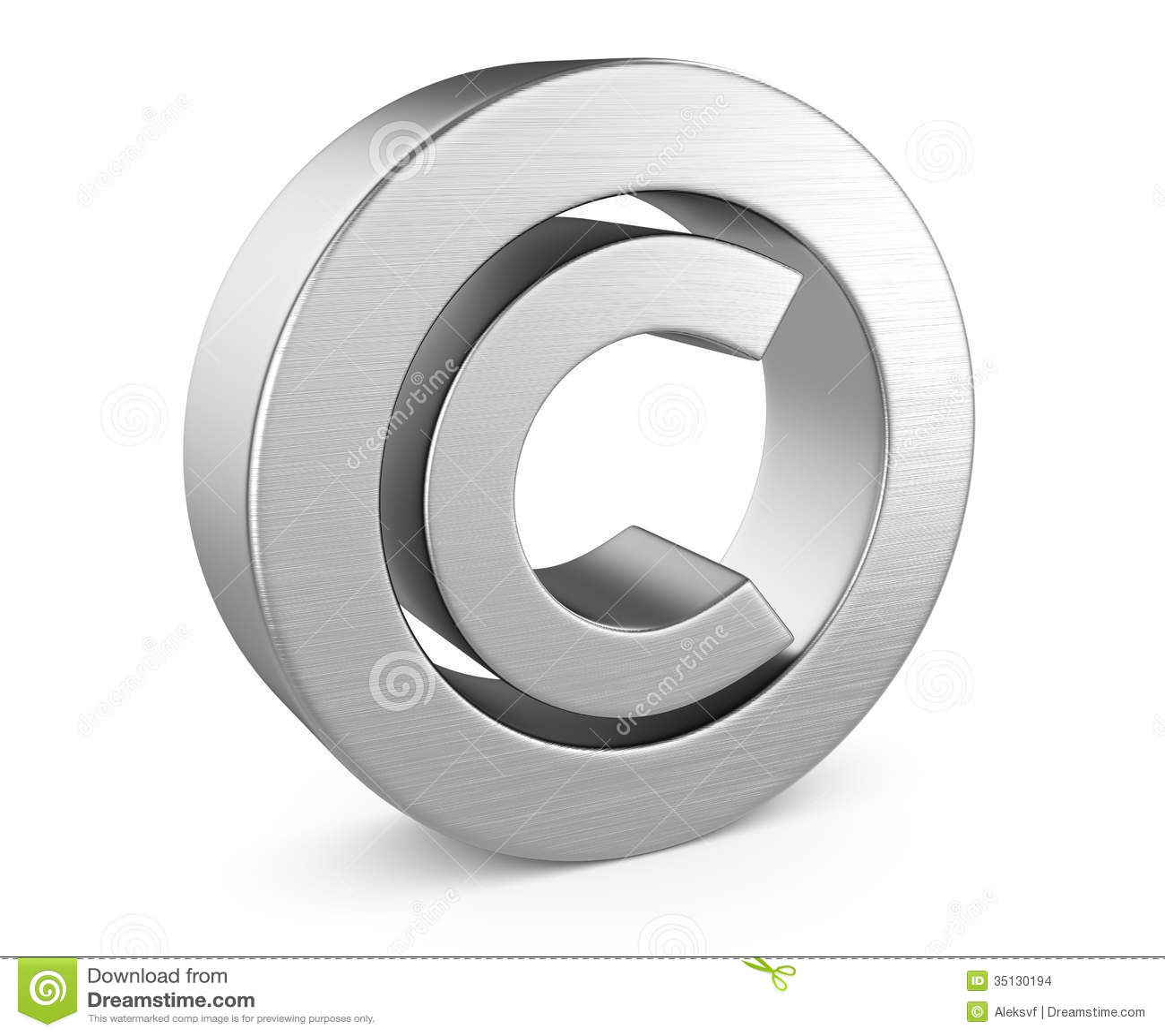 Copyright Symbol Stock Illustration Illustration Of Patent 35130194