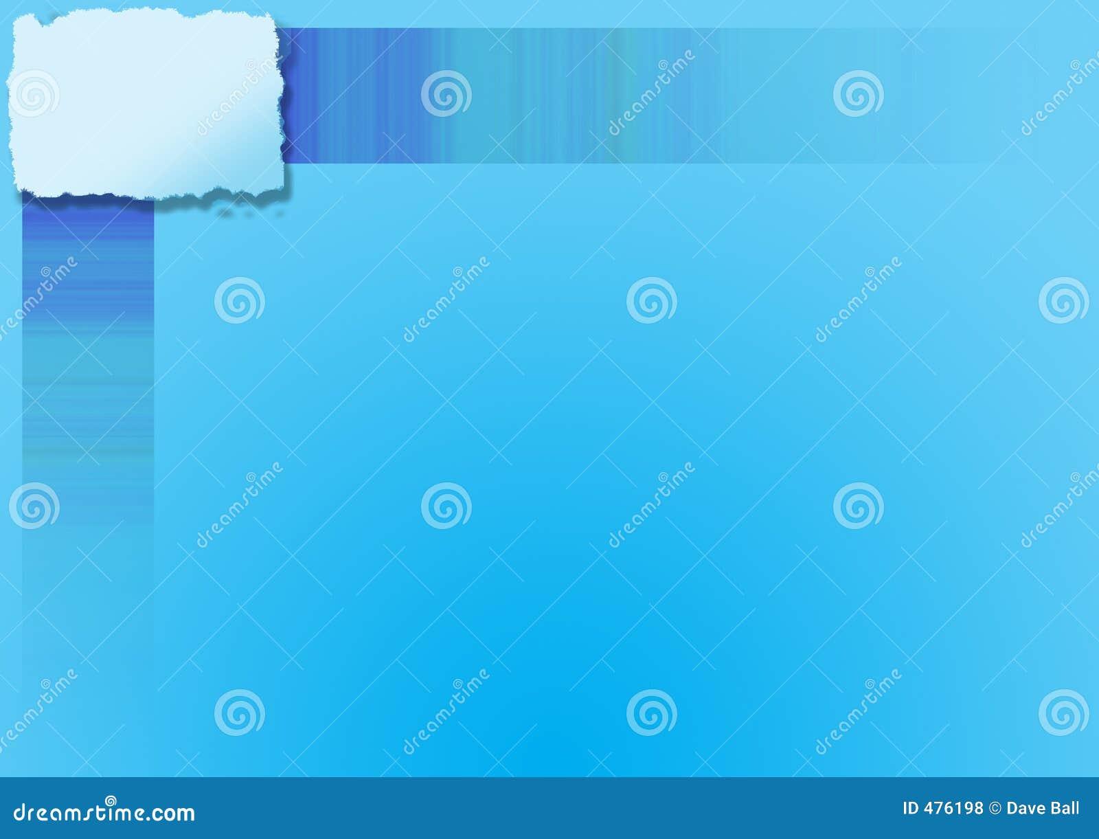 Copyspace сини предпосылки