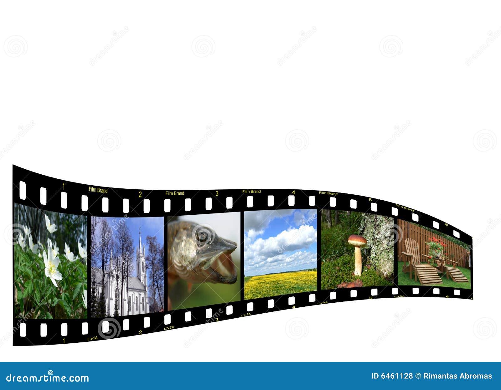 Copyspace filmstrip