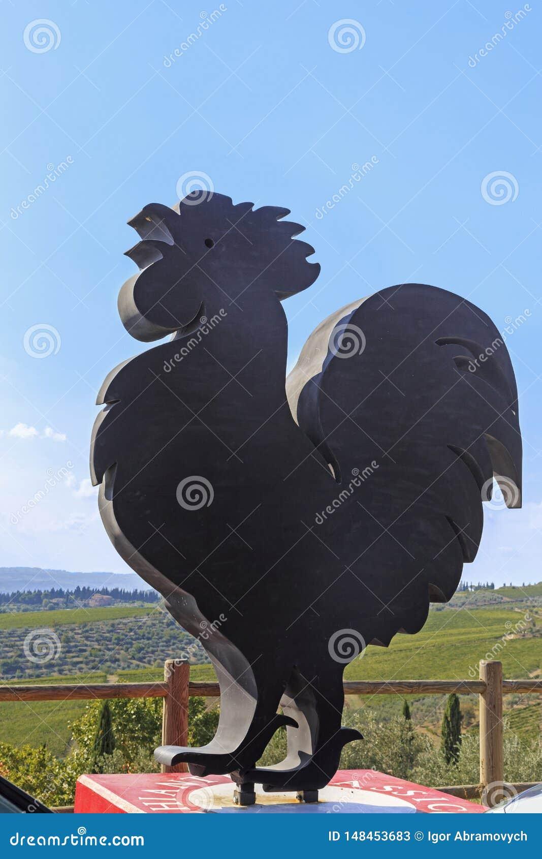 Coq noir de chianti