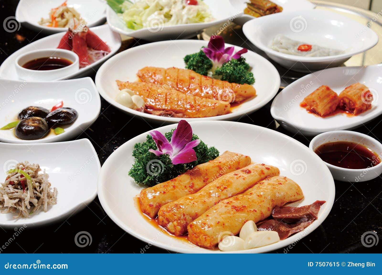 Coréen de cuisine