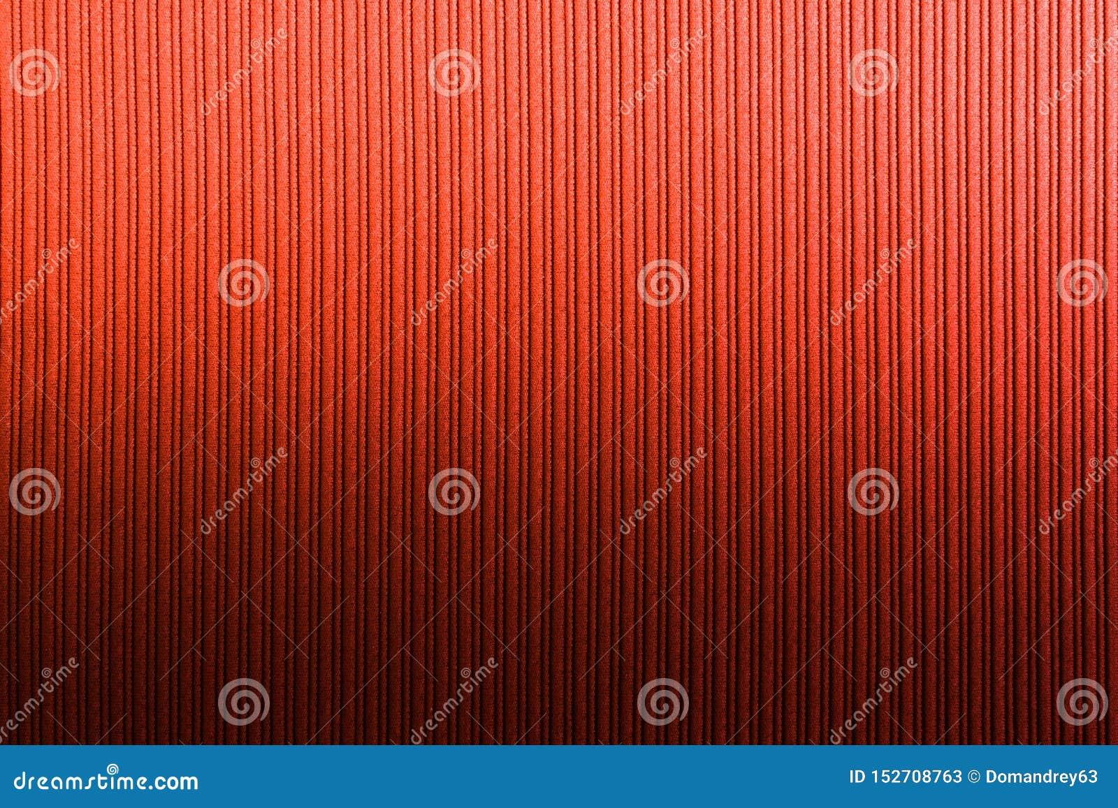 Cor alaranjada vermelha do fundo decorativo, inclina??o vertical da textura listrada wallpaper Arte Projeto