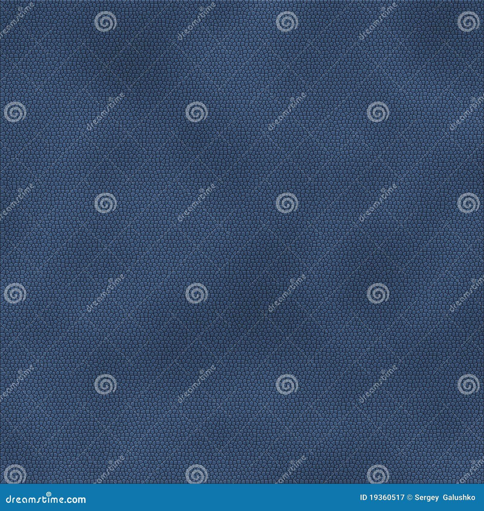 Cor azul de couro da textura