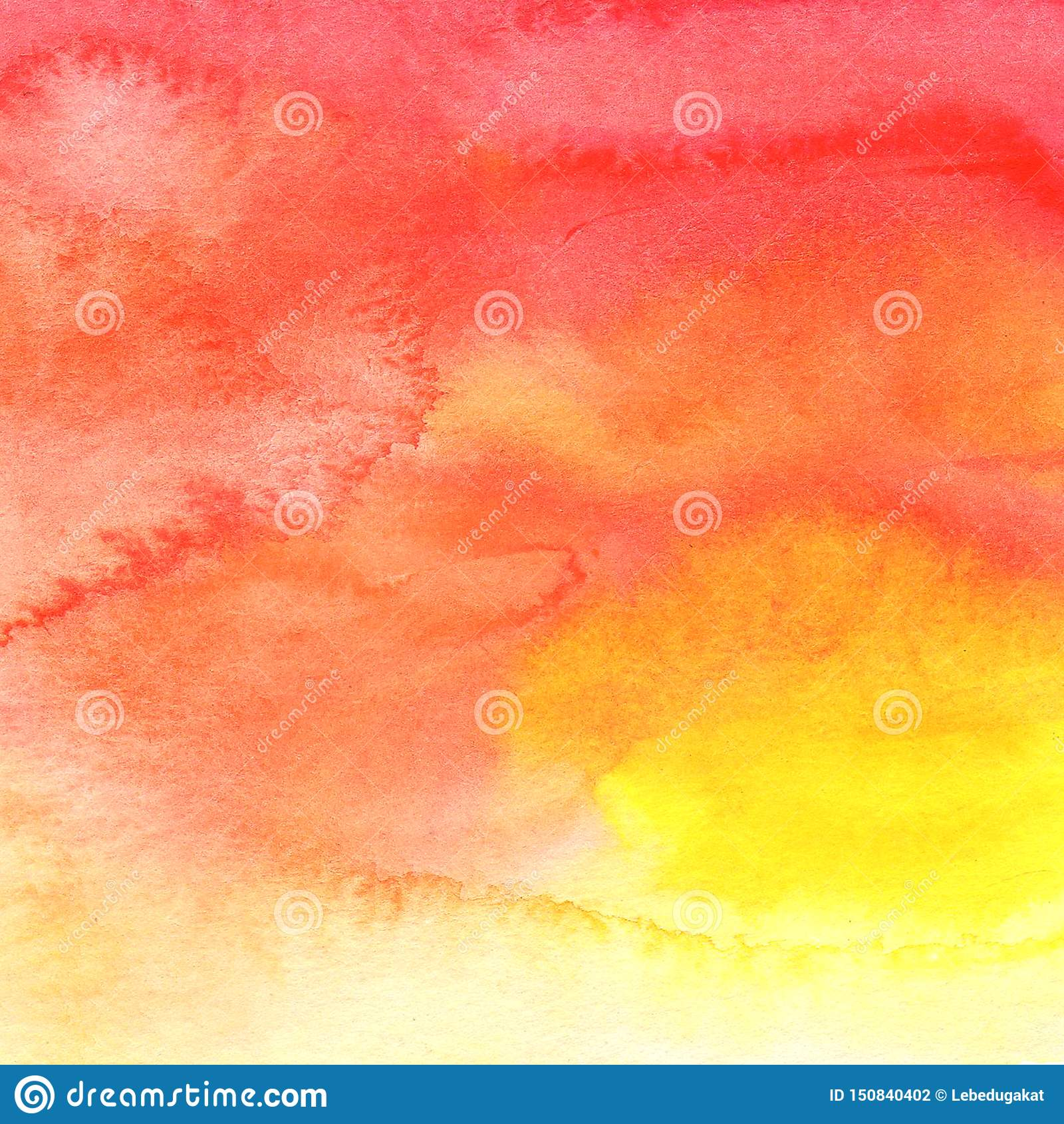Cor coral vermelha alaranjada amarela do fundo do sumário