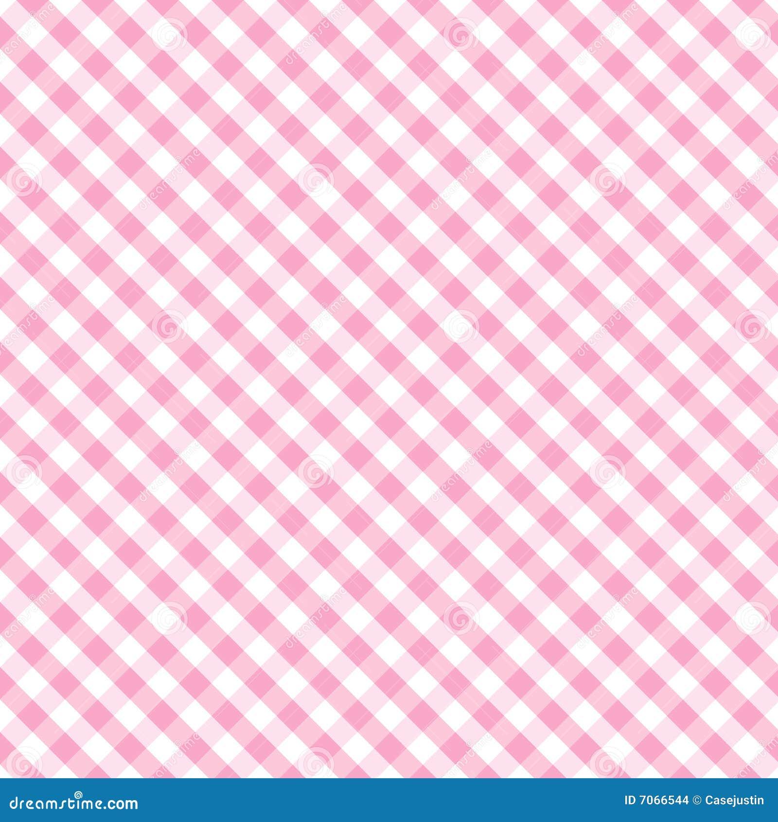 Cor-de-rosa de bebê Pastel do Weave da cruz do guingão de +EPS sem emenda