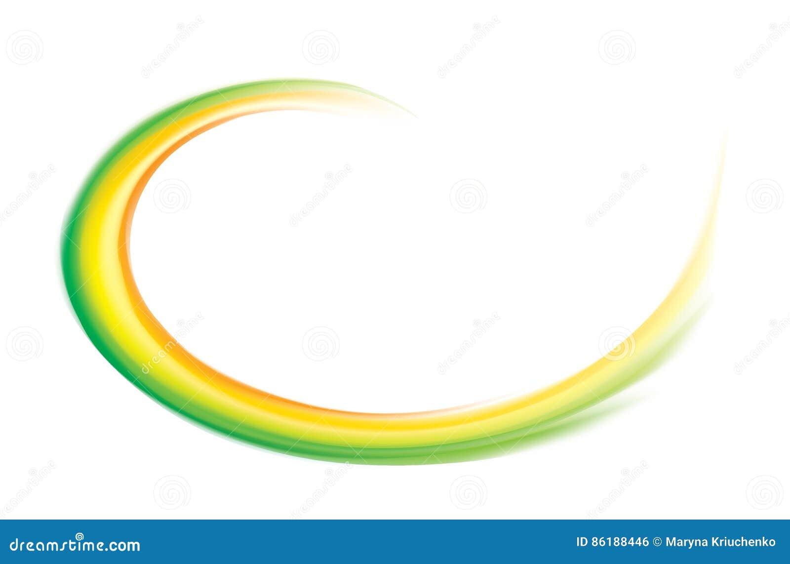 Cor verde de roda do contexto do vetor