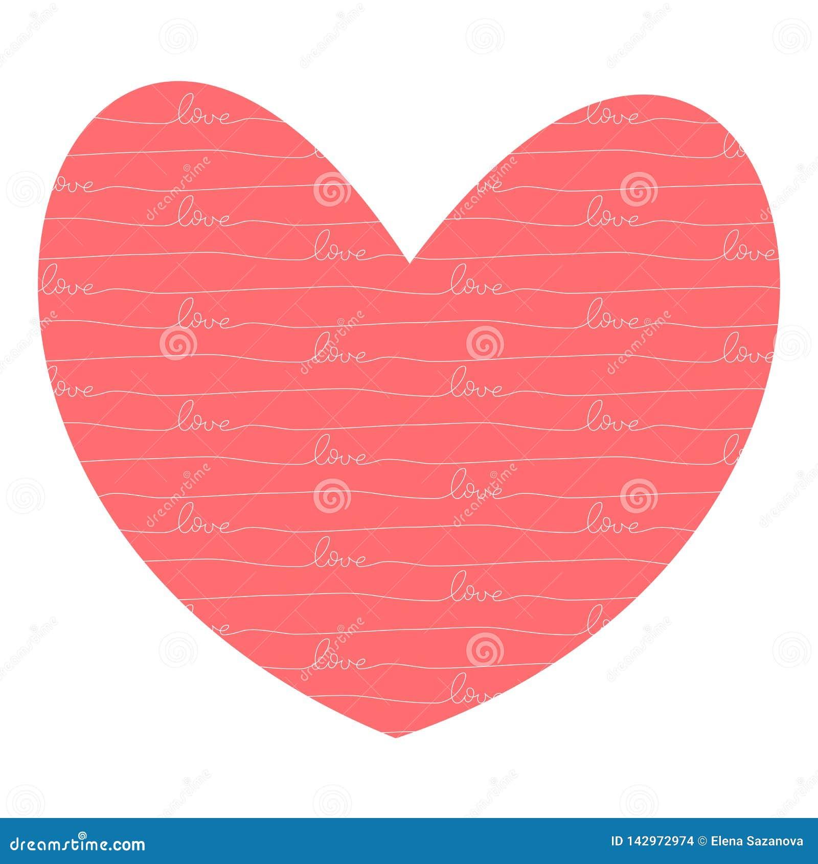 Coração com amor para dentro