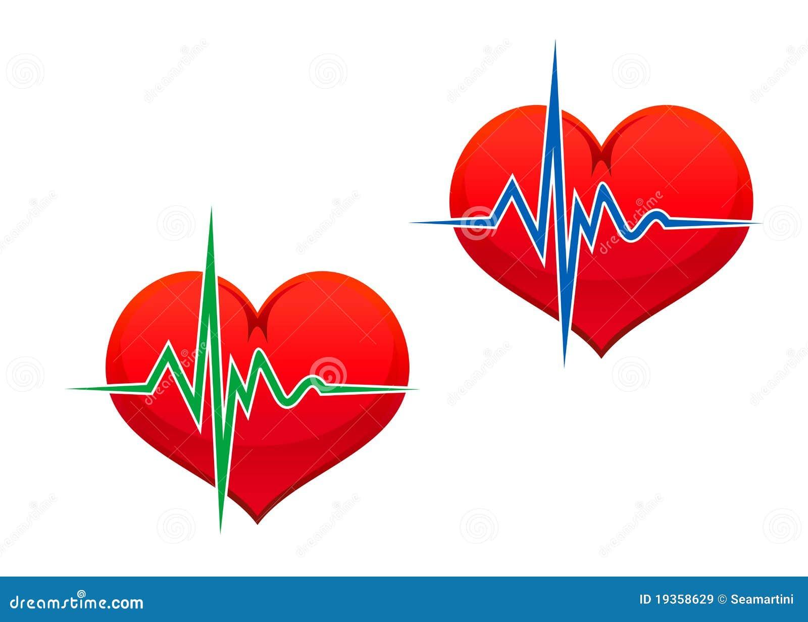 Coração com pulso