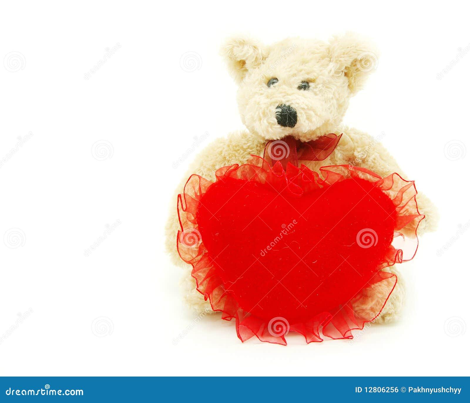 Coração da terra arrendada do urso