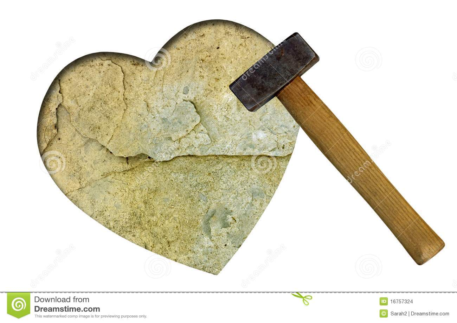 Coração de pedra - conceito do amor unrequited