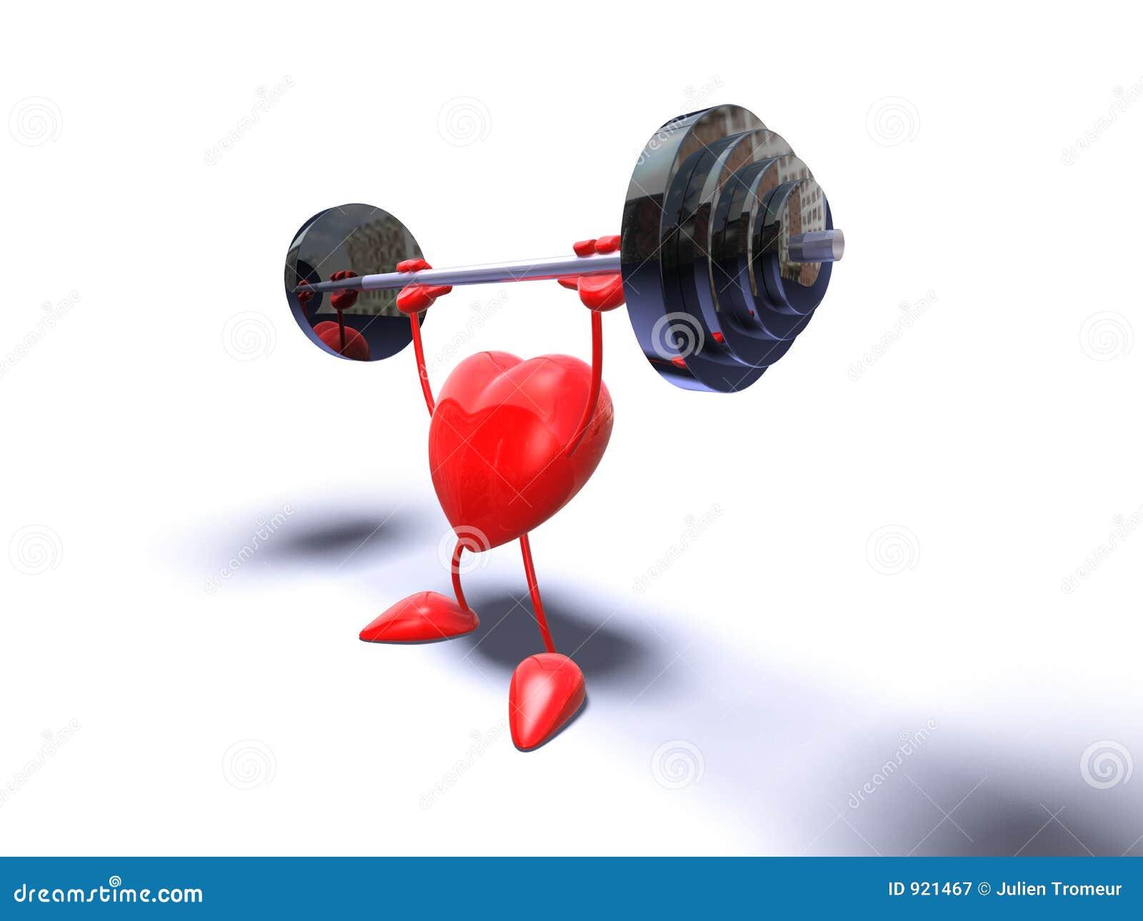 Coração do Bodybuilding