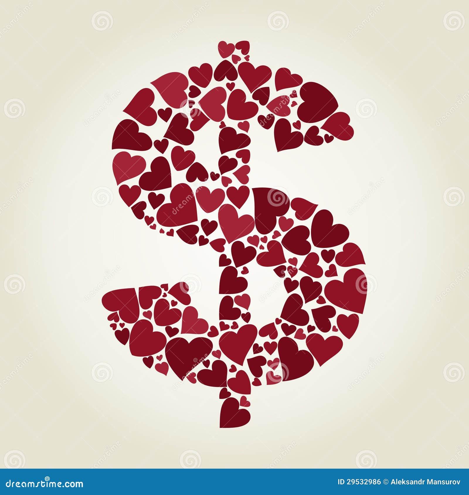 Coração do dólar