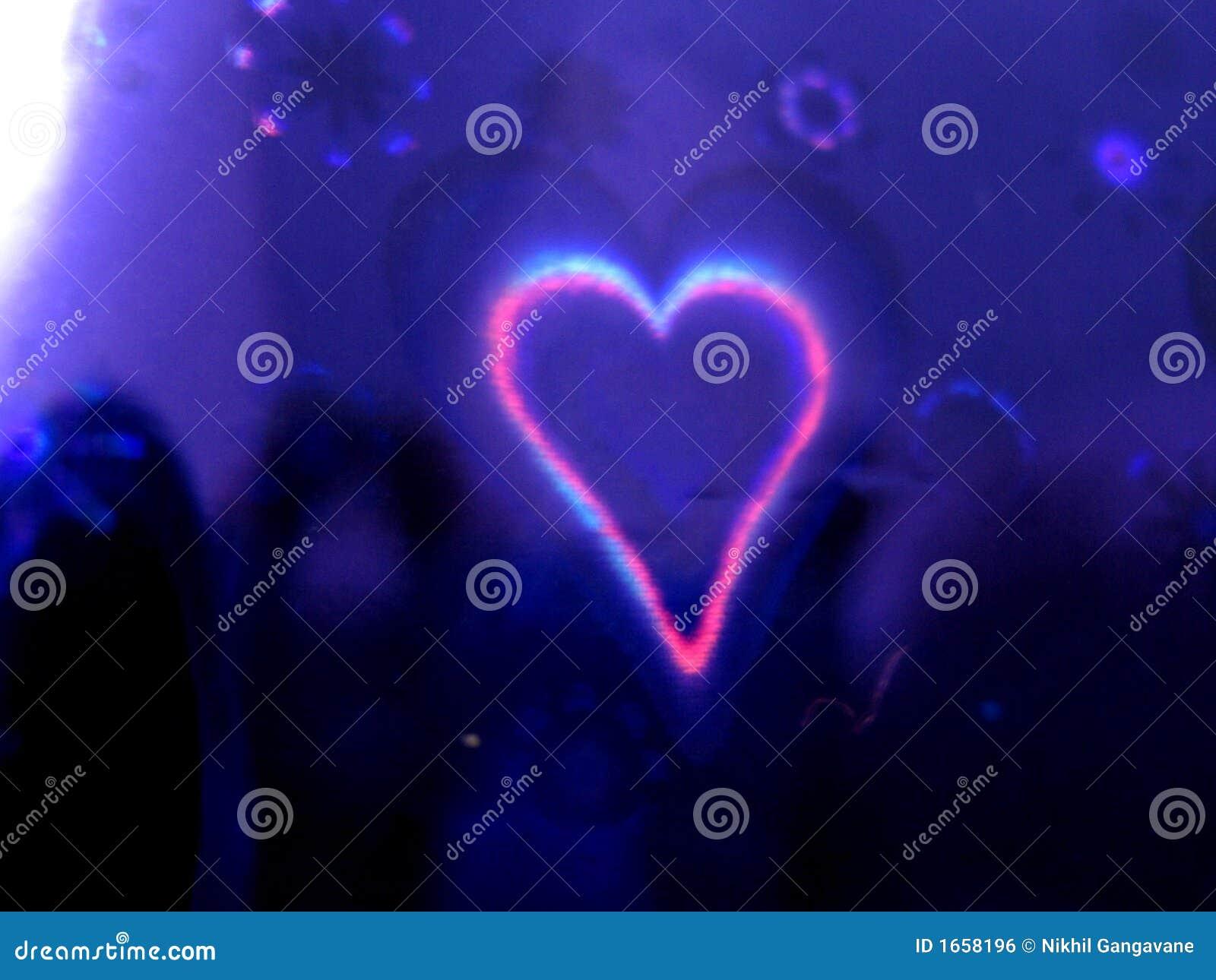 Coração do fundo