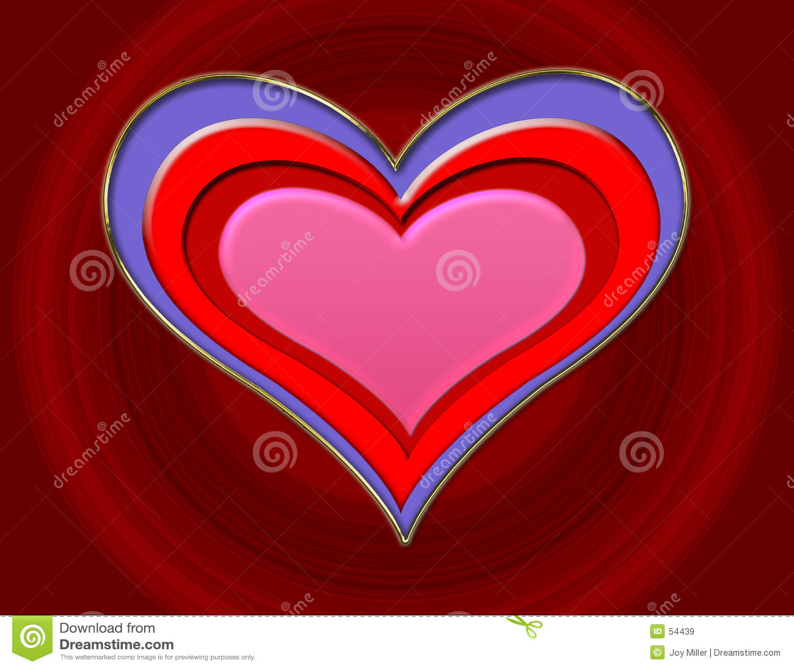 Coração gravado