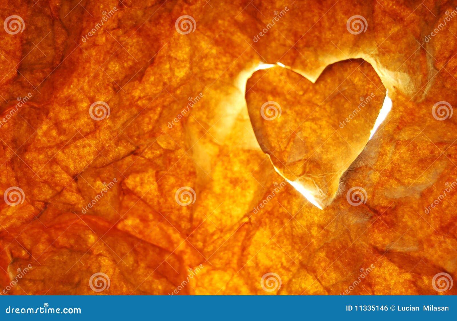 Coração no incêndio