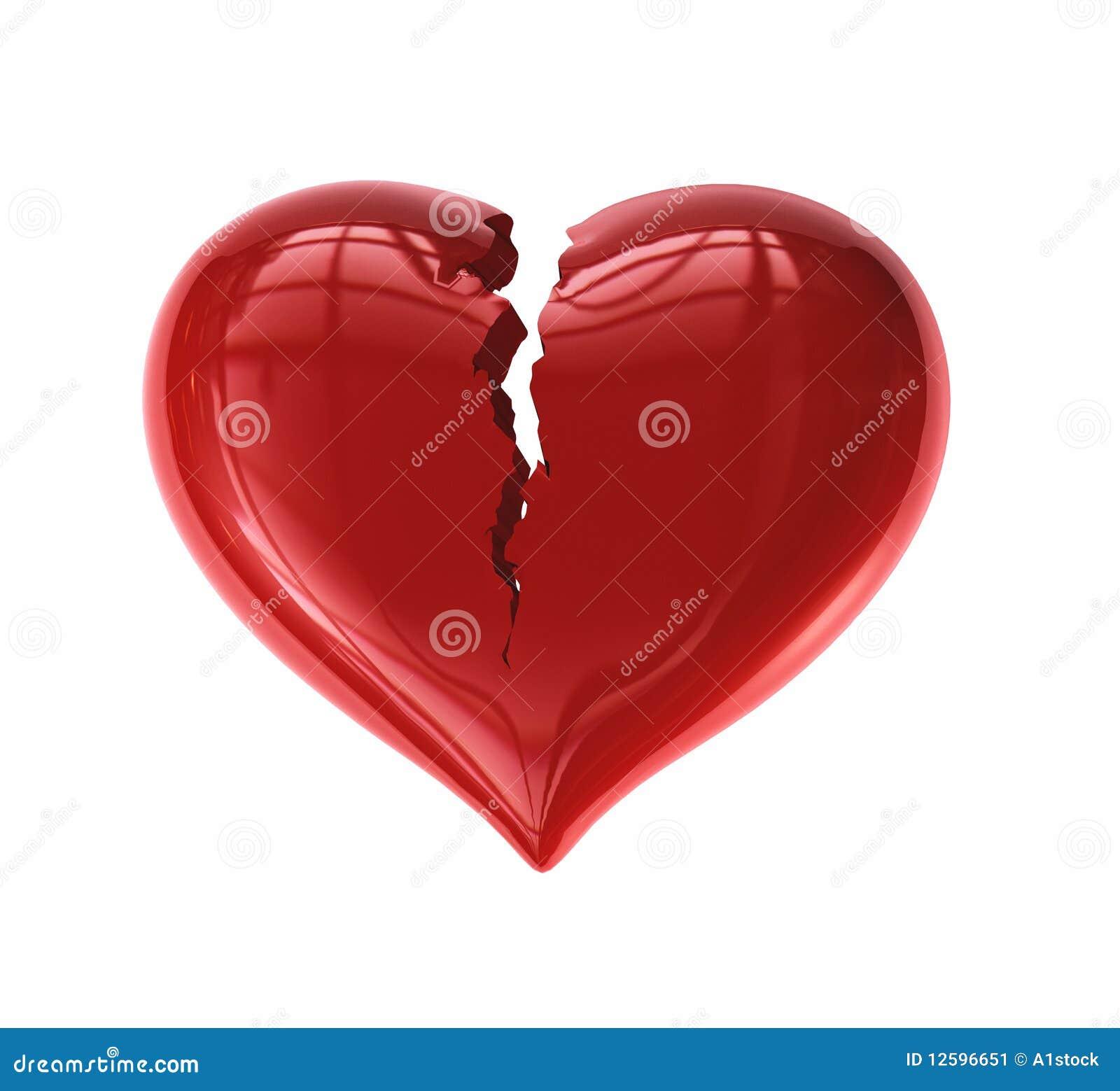 Coração rachado