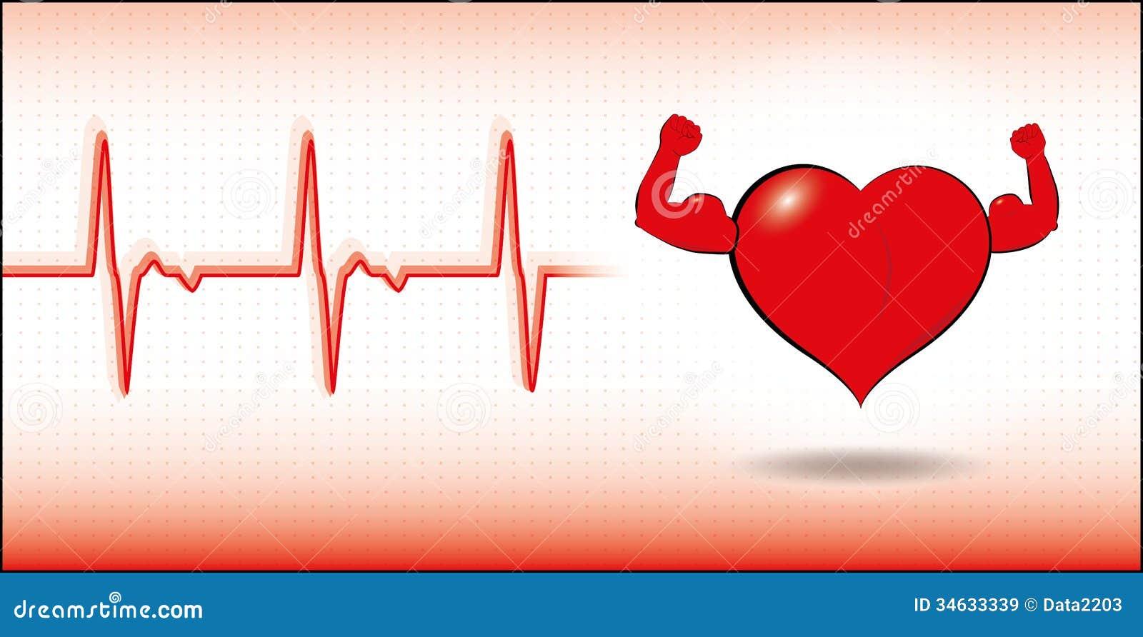 Coração saudável do vetor