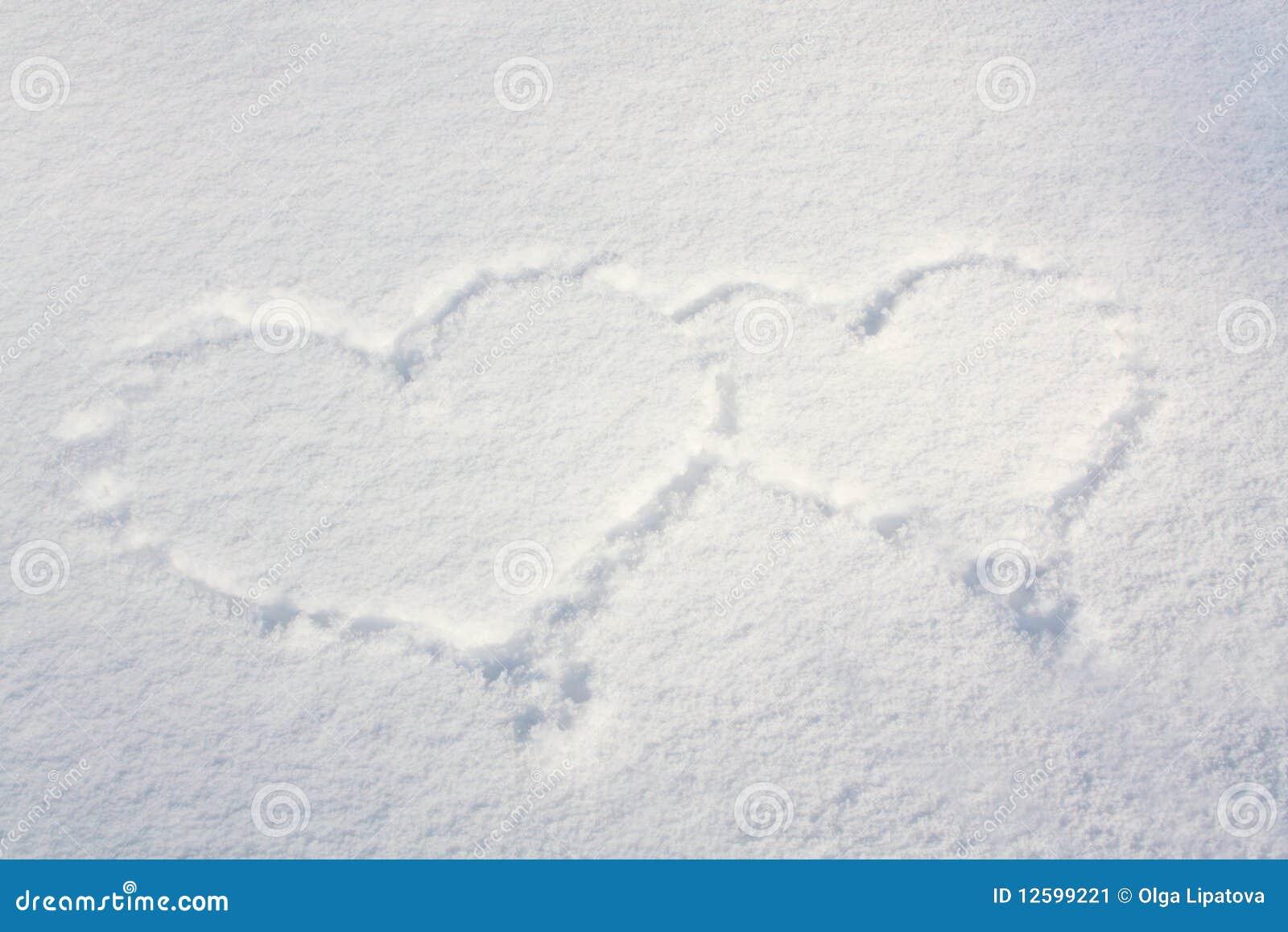 Corações da neve
