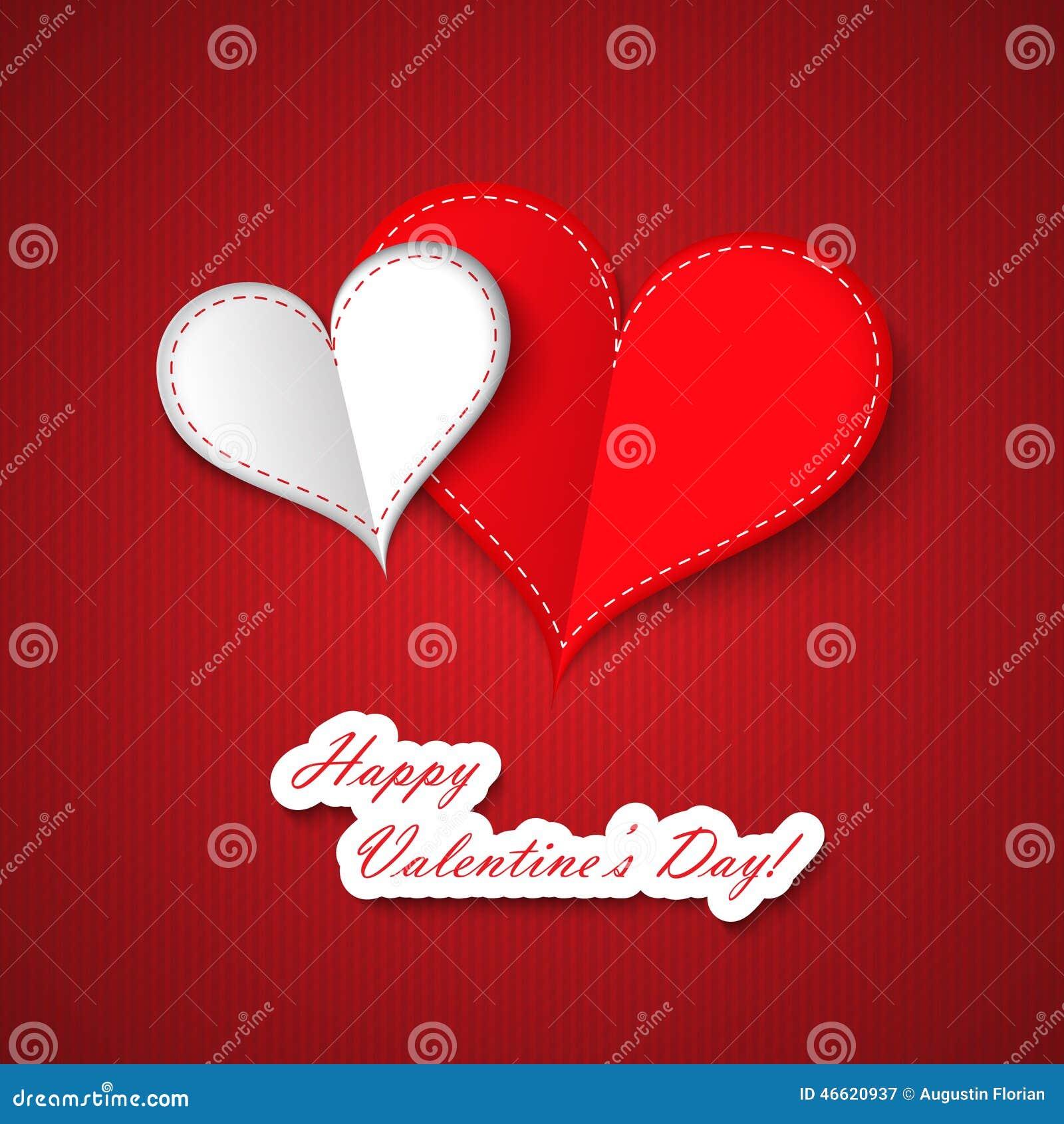 Corações do dia do Valentim