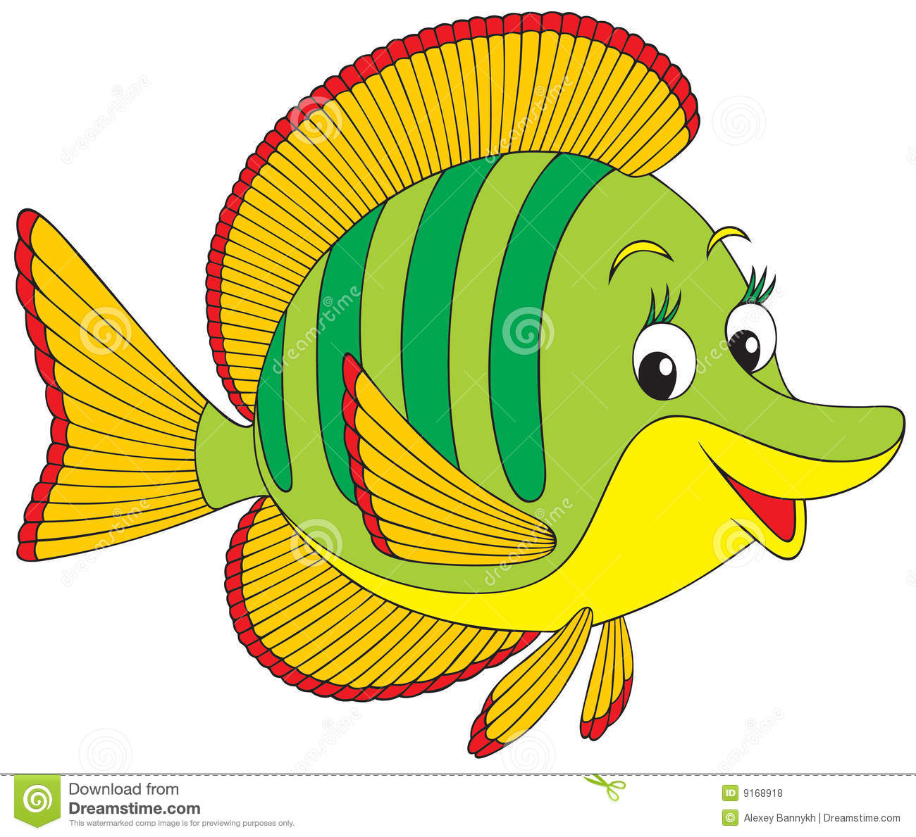coral fish stock vector illustration of vector clip 9168918 rh dreamstime com coral reef clipart png coral reef animals clipart