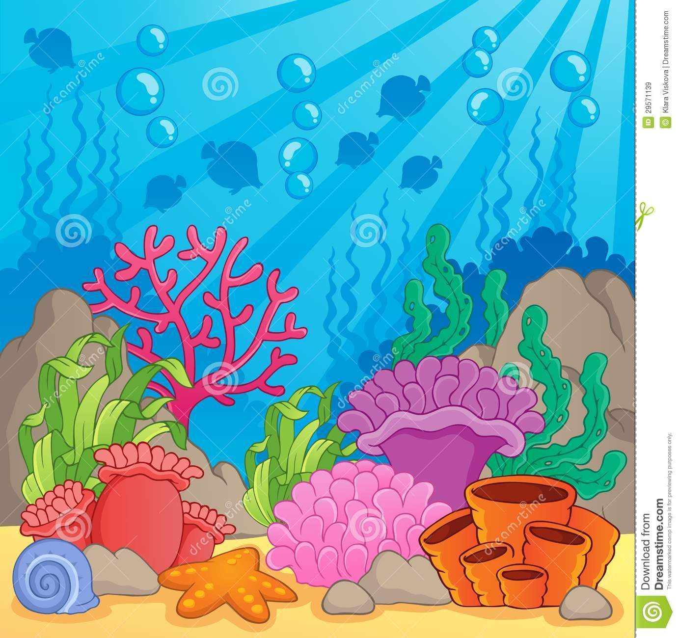 coral reef theme image 3 royalty free stock images image Treasure Chest Clip Art free treasure chest clipart images