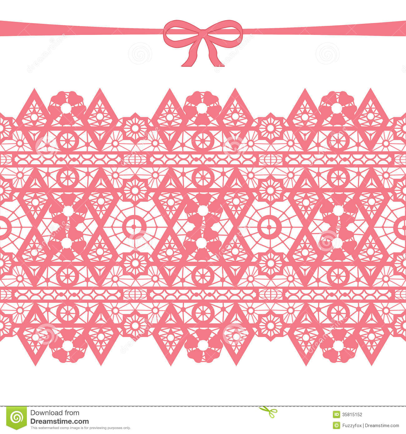 Coral seamless lace stock illustration. Image of backdrop ...