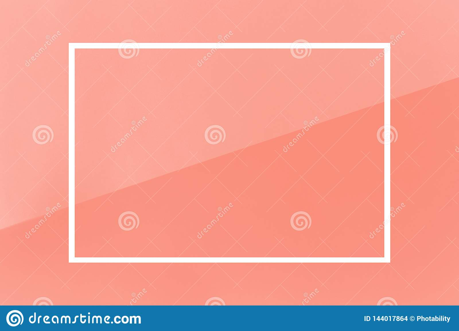 Coral white background