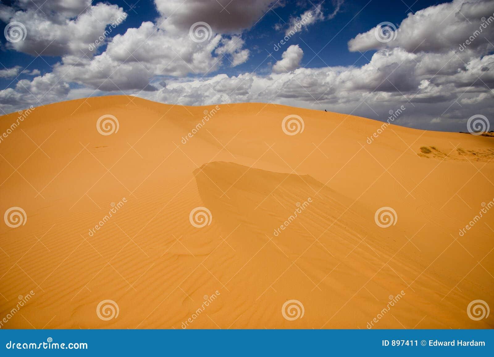 Coralpink wydmy piasku