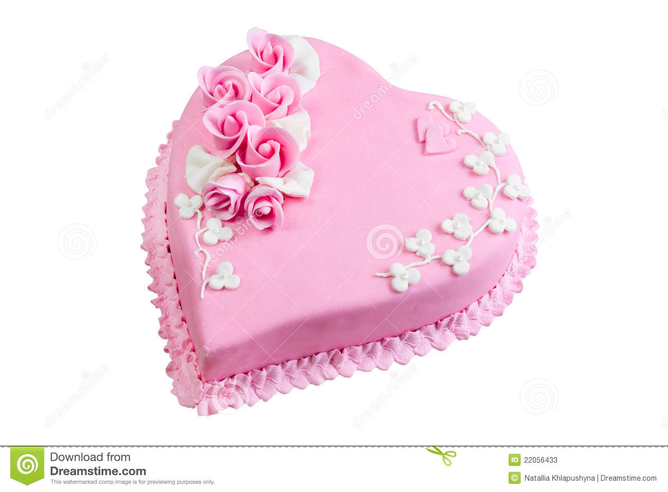 How To Decorate A Heart Shaped Cake Pt