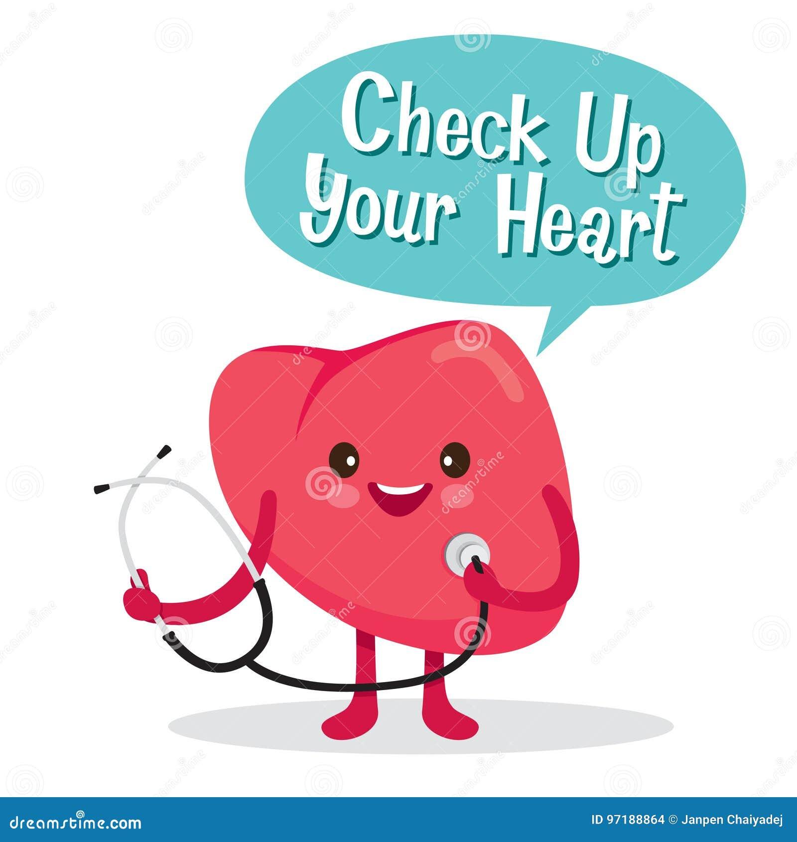Corazón órgano Interno Humano Personaje De Dibujos Animados