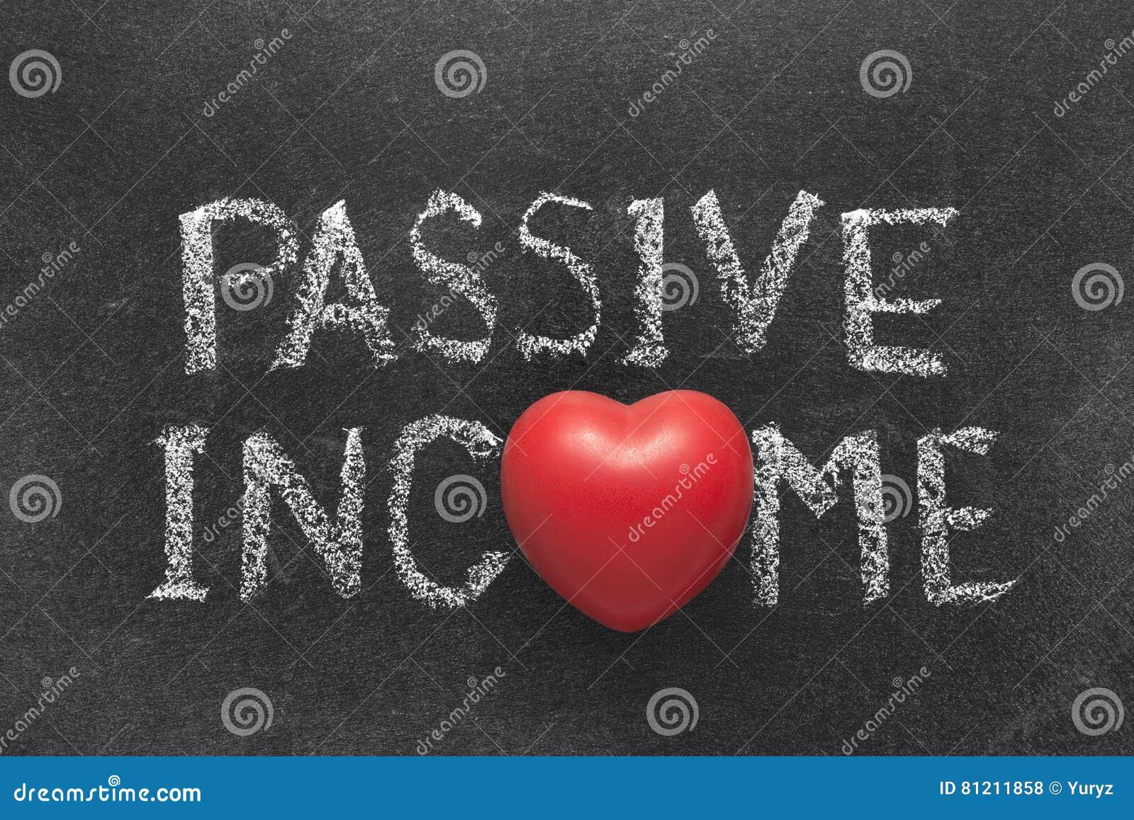 Corazón de la renta pasiva